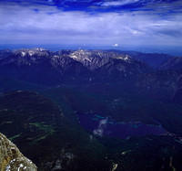 A view from Zugspitze